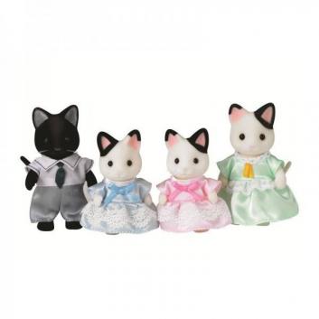 Набор Семья Чёрно-белых котов