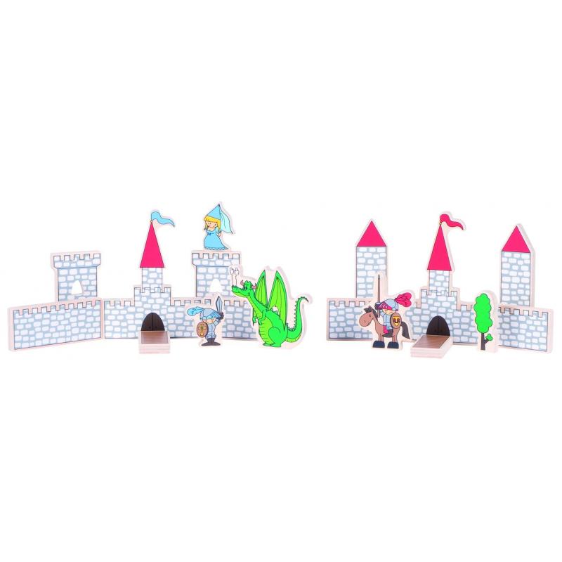 Развивающий пазл Замок 31 деталь от Nils