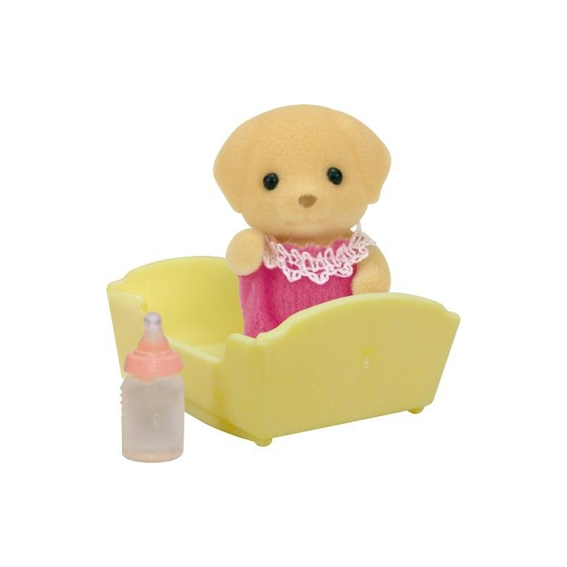Sylvanian Families Набор Малыш Лабрадор sylvanian families набор велосипедная прогулка