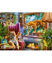 Пазл Тигры Возвращение в реальность Кастор