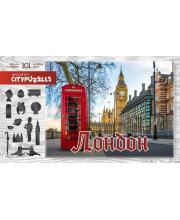Пазлы Citypuzzles Лондон Нескучные игры
