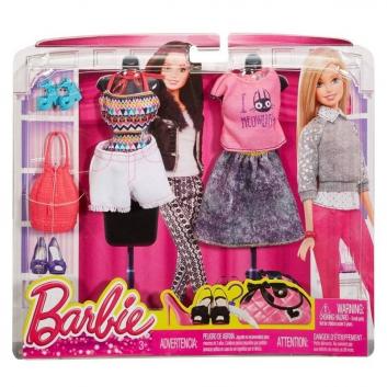Ликвидация, Набор модной одежды в ассортименте Barbie Mattel 647451, фото