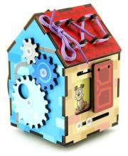 Развивающая игра Бизи-домик Тимбергрупп