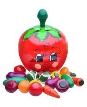 Счётный материал В помидоре Русские Народные Игрушки