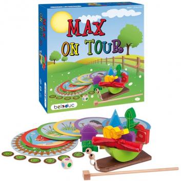 Игрушки, Развивающая игра Путешествие Макса Beleduc 657095, фото