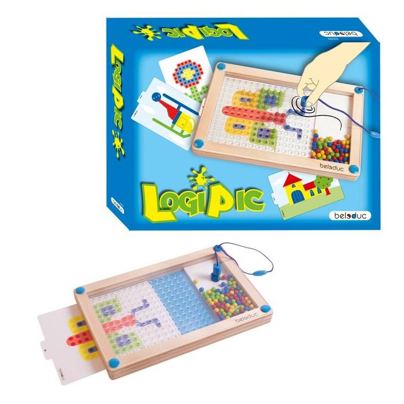 Beleduc Развивающая игра ЛогиПик beleduc развивающая игрушка зоопарк
