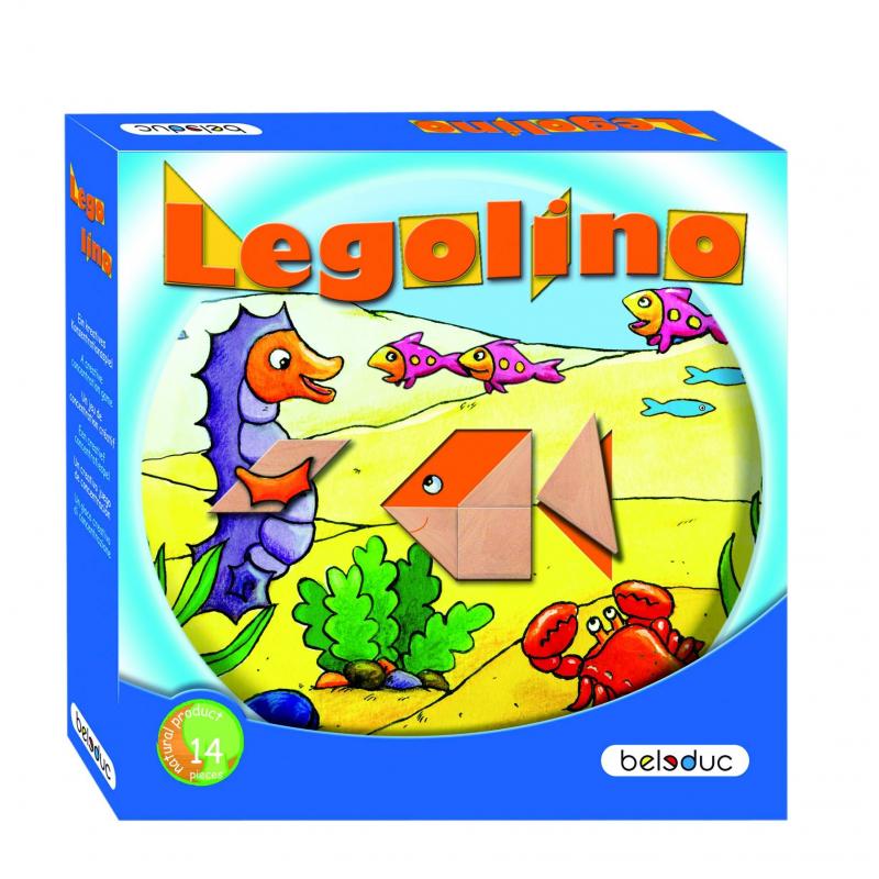 Beleduc Развивающая игра Леголино beleduc обучающая игра кухня магов xxl