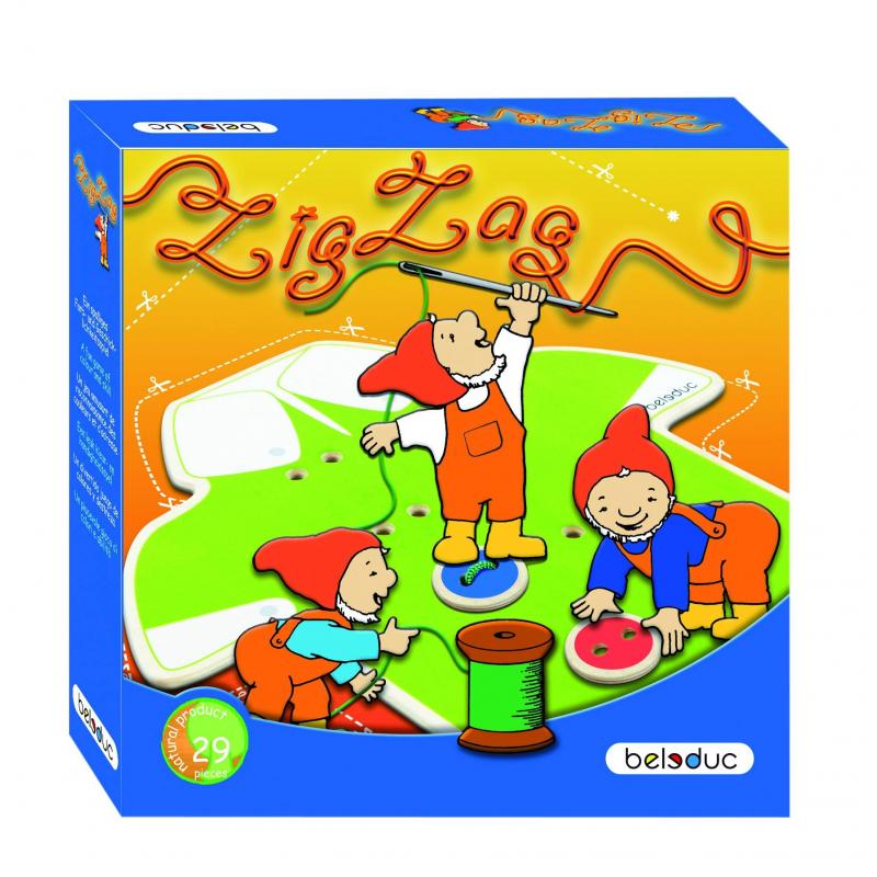 Beleduc Развивающая игра Зиг Заг beleduc развивающая игрушка зоопарк