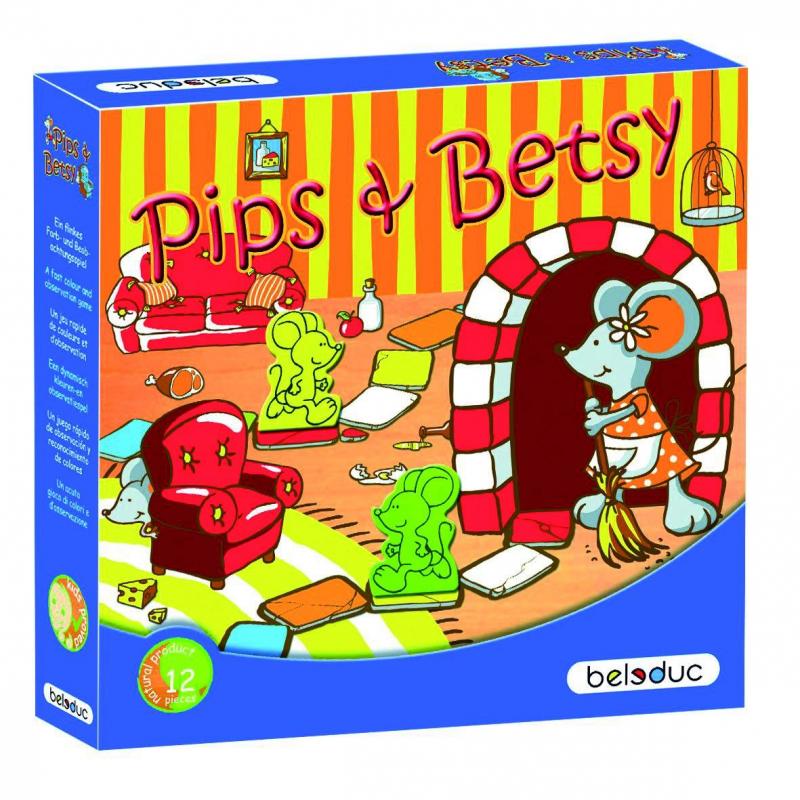 Beleduc Развивающая игра Пипс и Бетси