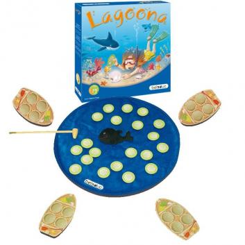 Игрушки, Развивающая игра Лагуна Beleduc 657107, фото