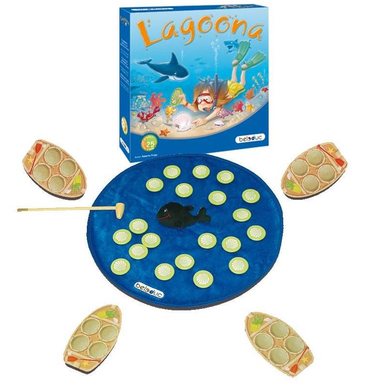 Beleduc Развивающая игра Лагуна игры для малышей beleduc развивающая игра лагуна 22323