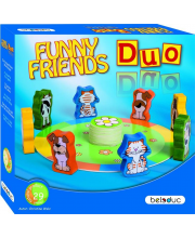 Развивающая игра Веселые друзья Дуо Beleduc