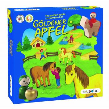 Игрушки, Развивающая игра Золотое яблоко Beleduc 657111, фото