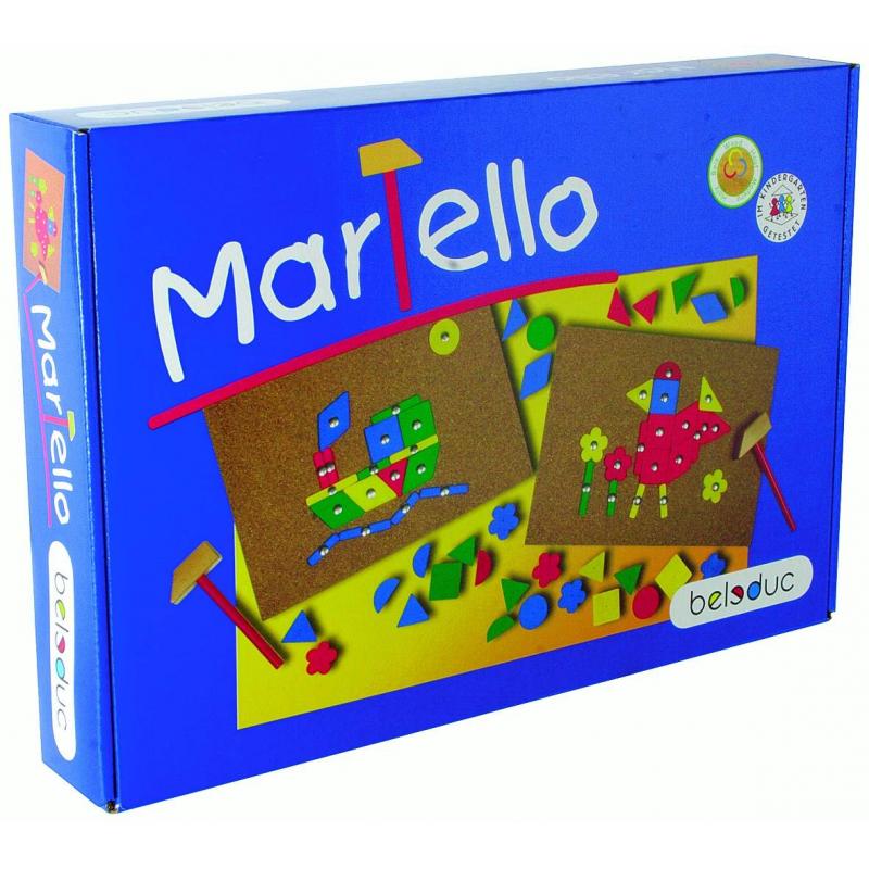 Beleduc Развивающая игра Мартелло beleduc развивающая игрушка зоопарк