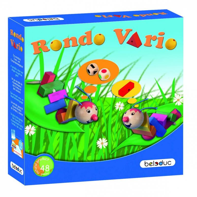 Beleduc Развивающая игра Рондо Варио игры для малышей beleduc развивающая игра рыбалка 22364