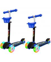 Самокат Midi со светящимися колесами ORION TOYS