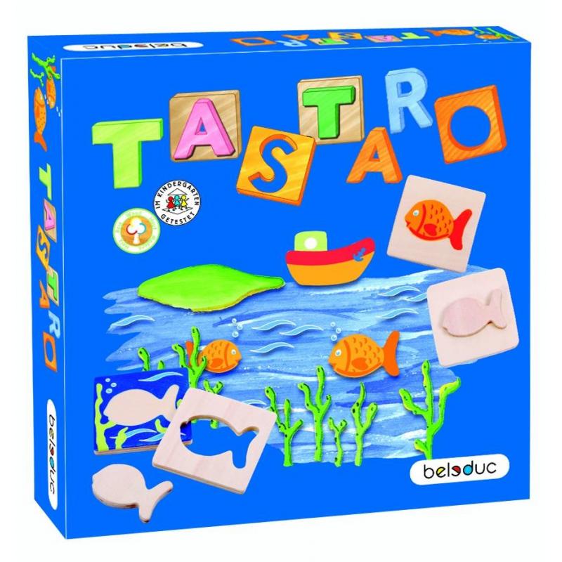 Beleduc Развивающая игра Тастаро beleduc развивающая игрушка зоопарк