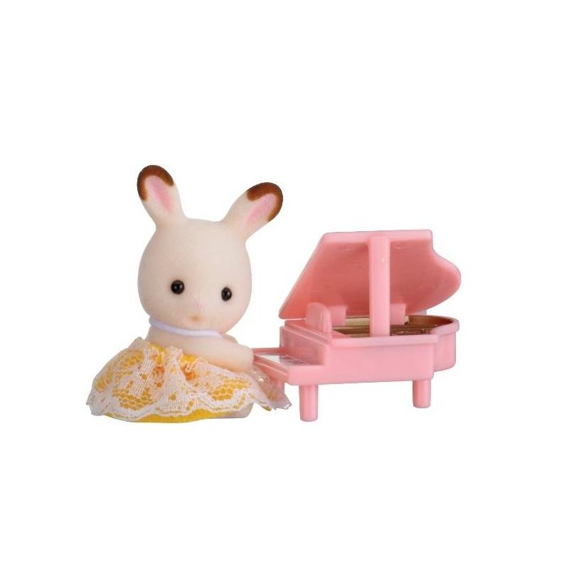 Sylvanian Families Набор Кролик и рояль цена
