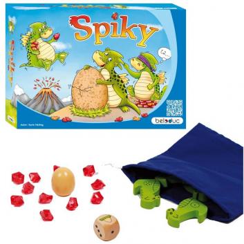 Игрушки, Развивающая игра Спайки Beleduc 657118, фото