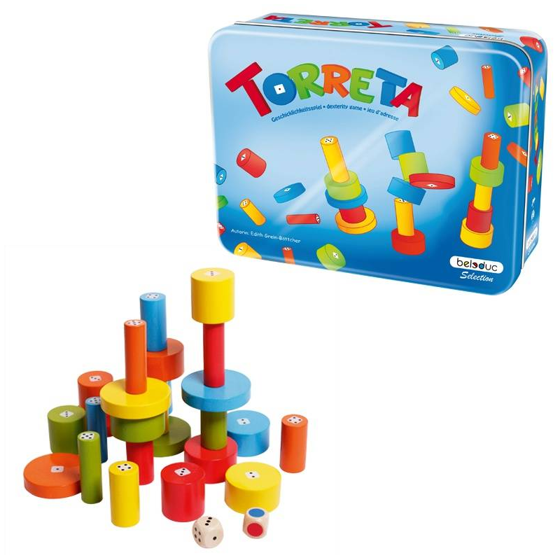 Beleduc Развивающая игра Башенки beleduc развивающая игрушка зоопарк