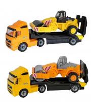 Автомобиль-трейлер с дорожным катком в ассортименте Wader