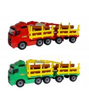 Автомобиль-лесовоз с прицепом в ассортименте Wader