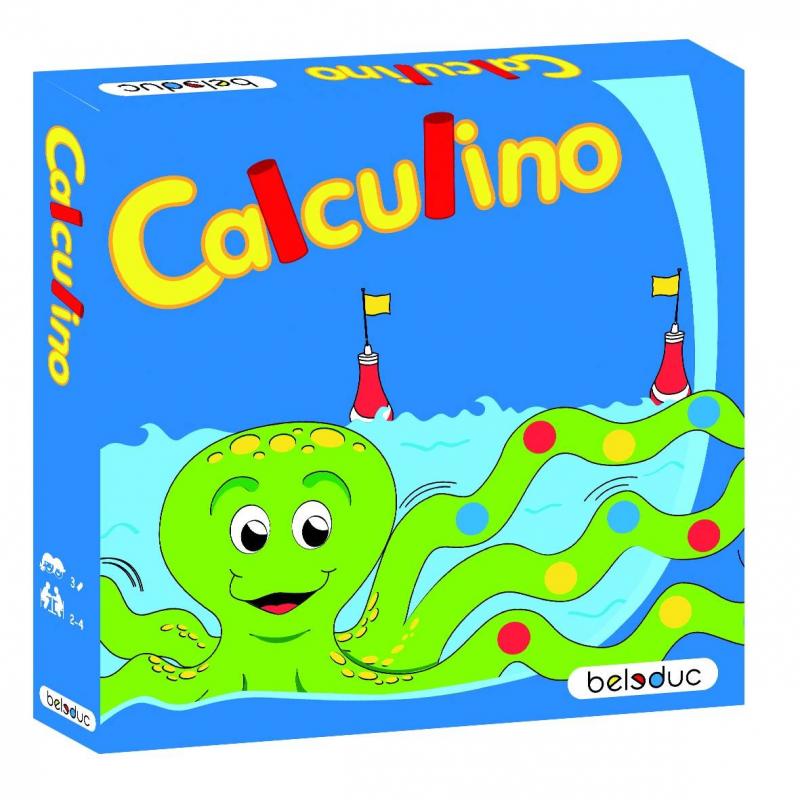 Beleduc Развивающая игра Калькулино beleduc развивающая игрушка зоопарк