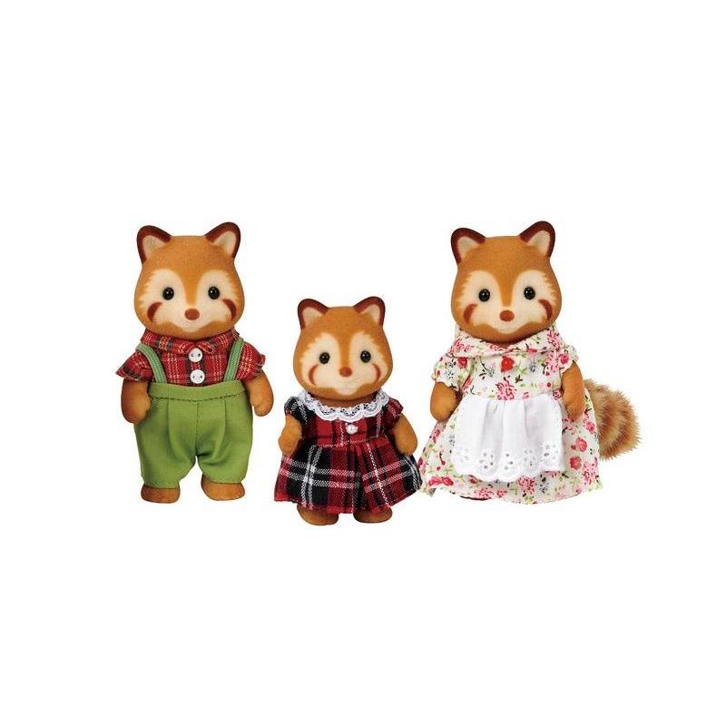 Набор Семья Красных ПандНабор Семья Красных Панд марки Sylvanian Families.<br>В набор входит 3 фигурки в милой одежде с вращающимися головами и лапками: папа, мама и малышка панда.<br><br>Возраст от: 3 года<br>Пол: Для девочки<br>Артикул: 653131<br>Страна производитель: Китай<br>Бренд: Япония<br>Размер: от 3 лет