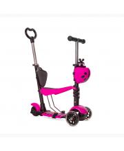 Самокат-беговел со светящимися колесами