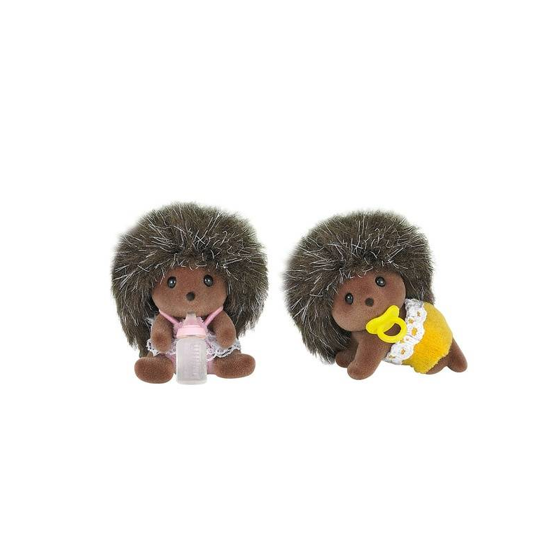 Sylvanian Families Набор Ежата-двойняшки набор фигурок sylvanian families двойняшки далматины