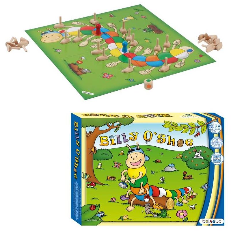 Beleduc Развивающая игра Билли О'Шу деревянные игрушки beleduc развивающая винтики друзья