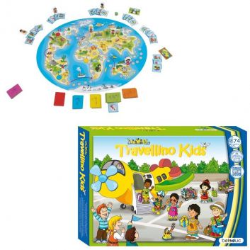 Игрушки, Развивающая игра Травелино Beleduc 657126, фото
