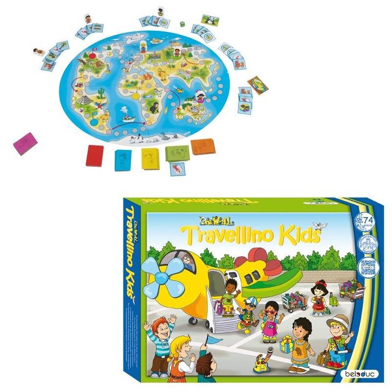 Beleduc Развивающая игра Травелино beleduc развивающая игрушка зоопарк
