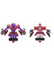 Набор волчков-трансформеров 2 в 1 Неудержимый и Таран Spin Racers