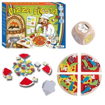 Игрушки, Развивающая игра Пицца Фиеста Beleduc 657128, фото