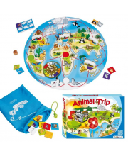 Развивающая игра Путешествие животных