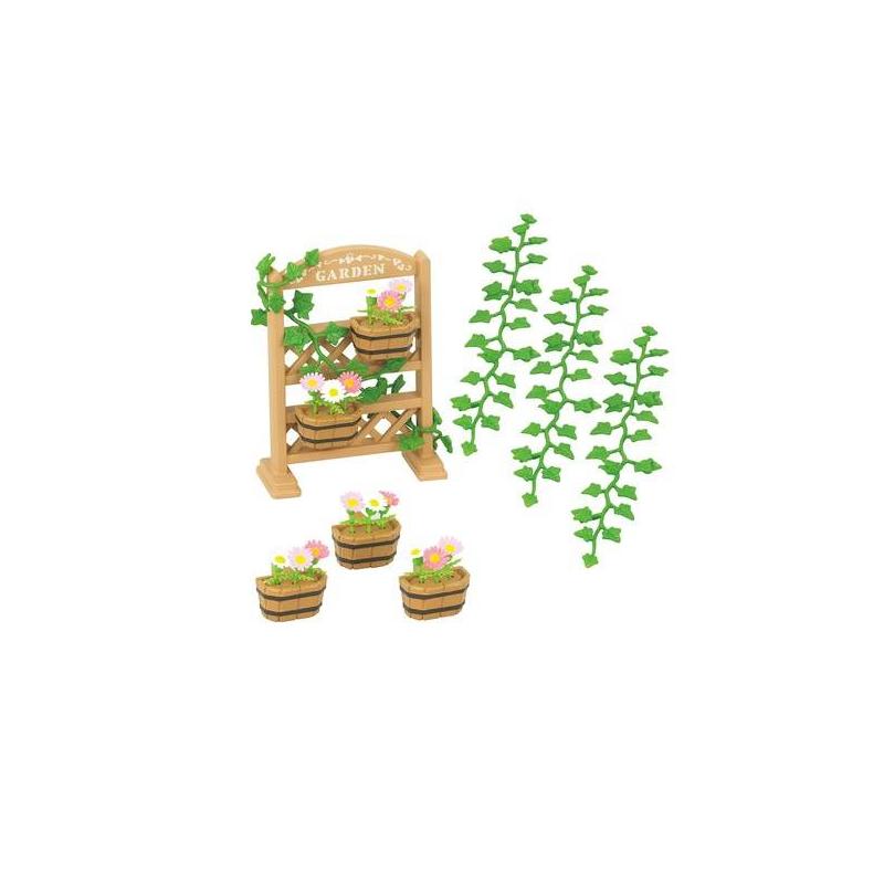 Sylvanian Families Набор Садовый декор интерьер и декор