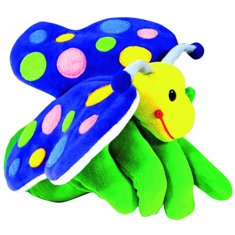 Кукла на руку Бабочка