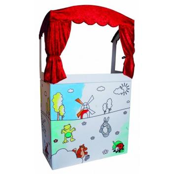 Игрушки, Ширма Кукольный театр Beleduc 657152, фото