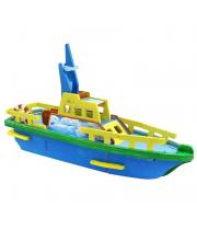 Деревянные 3D пазлы Спасательный корабль 34 детали Robotime