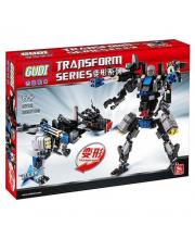Конструктор совместимый с LEGO Робот-ящер 299 деталей GUDI