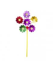 Вертушка Цветы 20 см в ассортименте