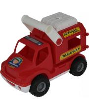 Автомобиль КонсТрак пожарная команда Полесье
