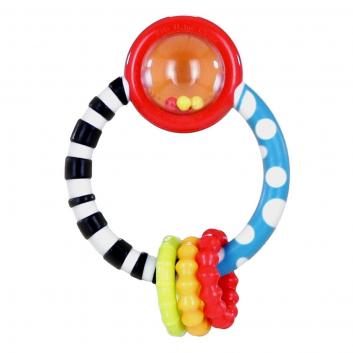 Игрушки, Прорезыватель Колечко Bright Starts 653211, фото