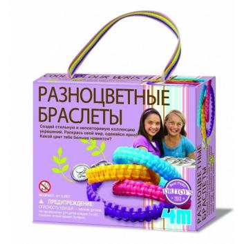Разноцветные браслеты