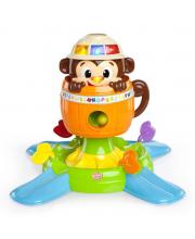 Развивающая игрушка Обезьянка в бочке Bright Starts