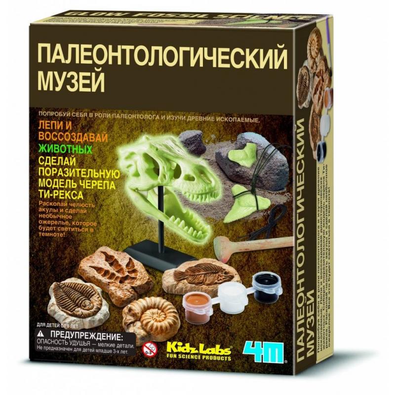 4М Познавательный набор Палеонтологический музей