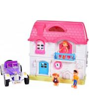 Дом с фигурками и машиной S+S Toys