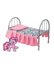 Кроватка My Little Pony металлическая