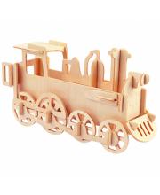 Сборная модель Паровоз Мир деревянных игрушек